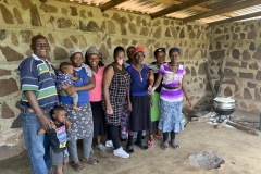 The Careworkers together with Vusi and Melody